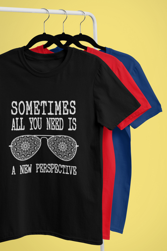 Sometimes all you need is, motivational quote, Unisex T-Shirt