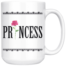 Load image into Gallery viewer, The Princess Mug | Romantic Coffee/Tea Mug 15 Oz. - sea-gull