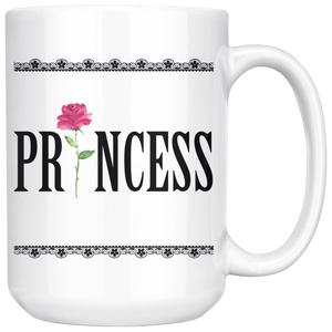 The Princess Mug | Romantic Coffee/Tea Mug 15 Oz. - sea-gull
