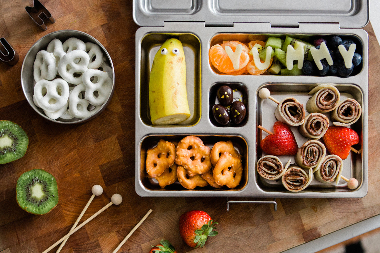 PlanetBox - the Eco-Friendly, Stainless Steel Lunchbox