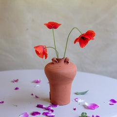 Terracotta Bud Vases (each sold separately)