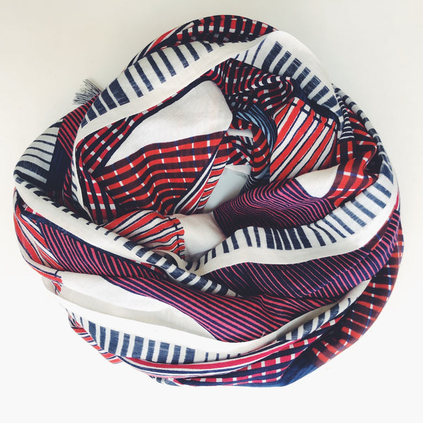 Marceau Scarf- Red