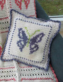 Butterfly Afghan and Pillow Set Crochet Pattern - Maggie's Crochet