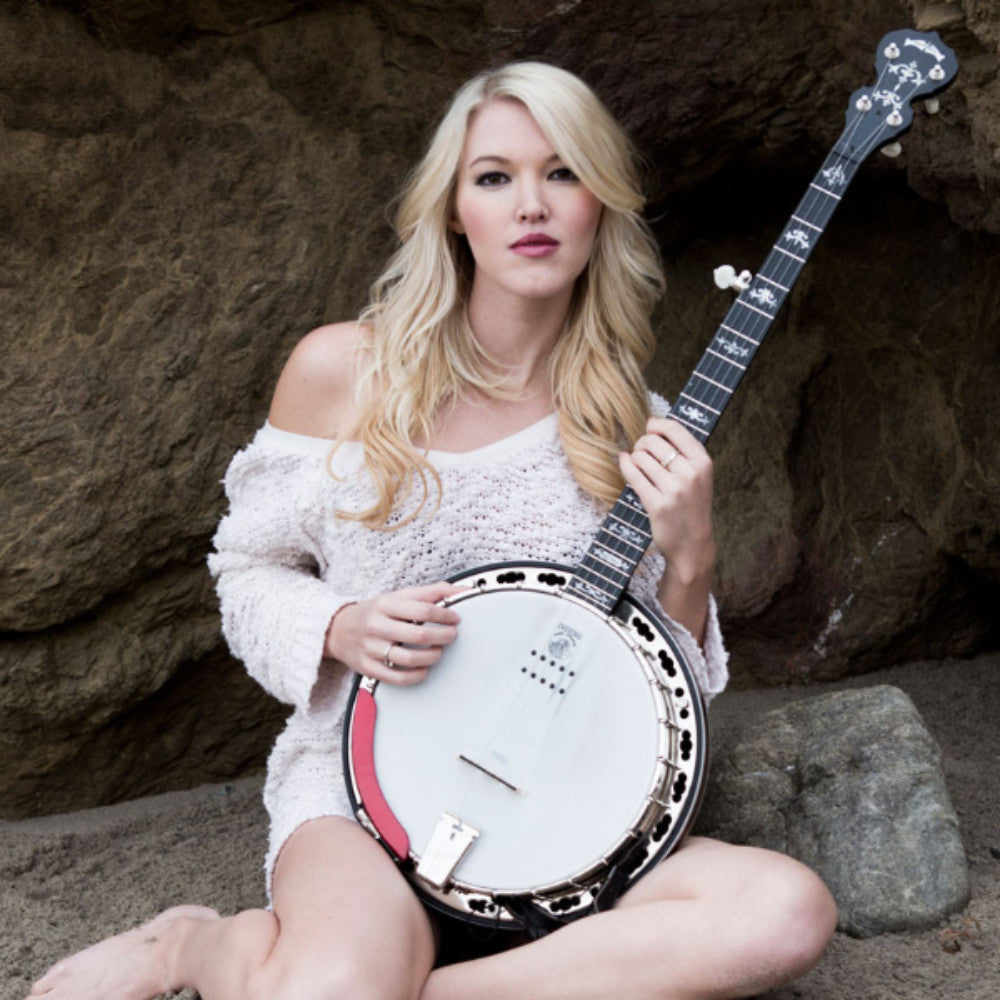Deering Sierra™ 5-String Acoustic/Electric Banjo