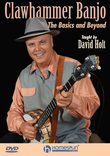 Clawhammer Banjo- The Basics and Beyond by David Holt DVD