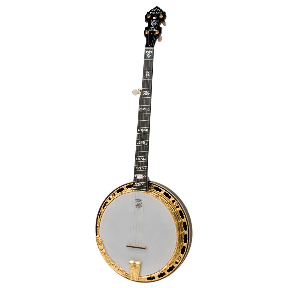 Deering Jens Kruger Signature Model banjo with 06 tone ring - front