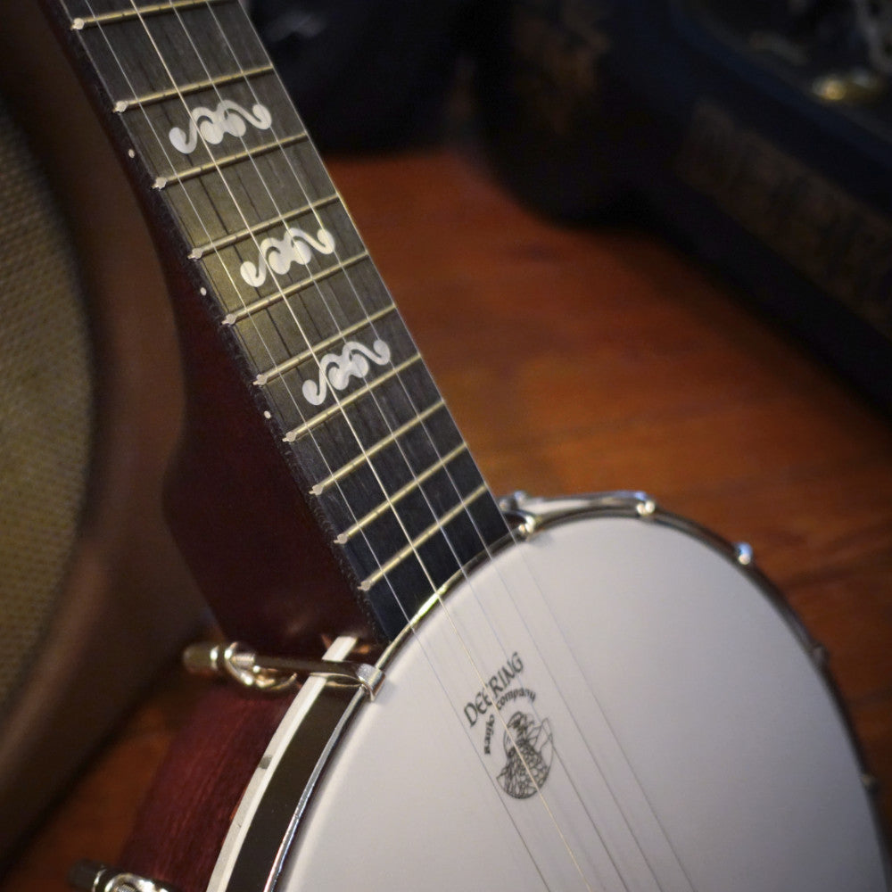 Artisan Goodtime Banjo - pot and neck