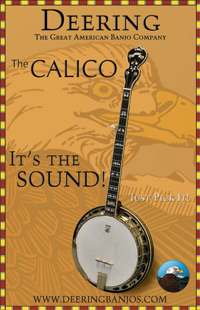 Deering Calico Poster