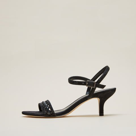 Kim 2 (Black / Metallic Textile) 30% Off