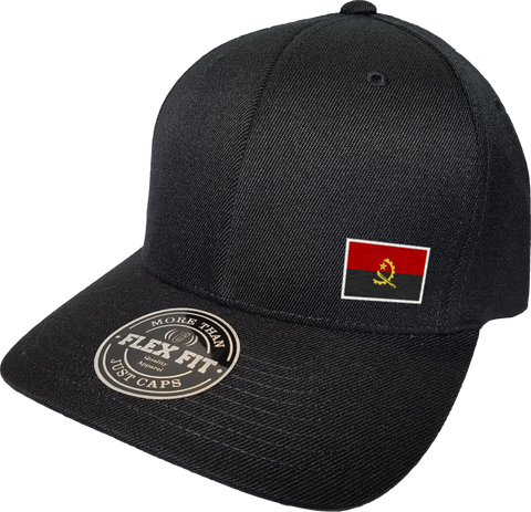 Angola Cap Flex Fit FLS Black