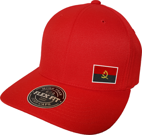 Angola Cap Flex Fit FLS Red