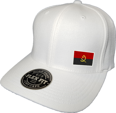 Angola Cap Flex Fit FLS White