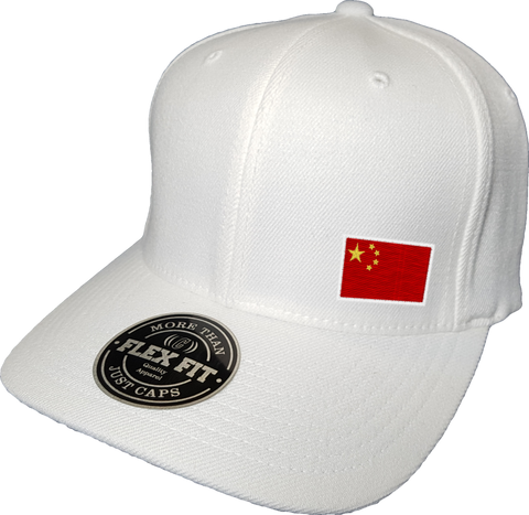 China Cap Flex Fit FLS White