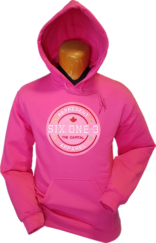 Six One 3 Benchmark Hoodie Shock Pink
