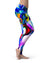 Blurred Abstract Flow V21 - All Over Print Womens Leggings / Yoga or Workout Pants