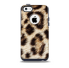 Leopard Furry Animal Hide Skin for the iPhone 5c OtterBox Commuter Case
