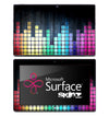 Colorful Equalizer Skin for the Microsoft Surface