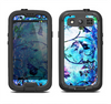 The Black & Bright Color Floral Pastel Samsung Galaxy S3 LifeProof Fre Case Skin Set