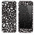 The Black Floral Sprout Skin for the iPhone 3, 4-4s, 5-5s or 5c