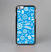 The Blue Nautical Collage Skin-Sert Case for the Apple iPhone 6 Plus