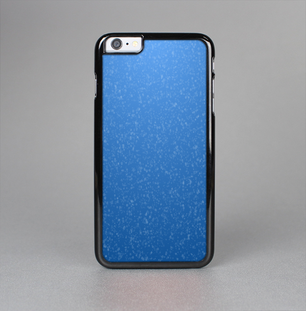 The Blue Subtle Speckles Skin-Sert Case for the Apple iPhone 6 Plus