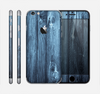 The Blue Washed WoodGrain Skin for the Apple iPhone 6