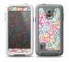 The Bright Colored Vector Spiral Pattern Skin for the Samsung Galaxy S5 frē LifeProof Case