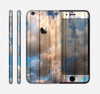 The Cloudy Wood Planks Skin for the Apple iPhone 6