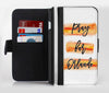 Pray For Orlando V7 Ink-Fuzed Leather Folding Wallet Credit-Card Case for the Apple iPhone 6/6s, 6/6s Plus, 5/5s and 5c