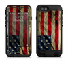 the dark wrinkled american flag  iPhone 6/6s Plus LifeProof Fre POWER Case Skin Kit