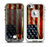 The Dark Wrinkled American Flag Skin for the iPhone 5-5s frē LifeProof Case
