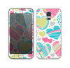 The Fun Colored Vector Pattern Hearts Skin For the Samsung Galaxy S5