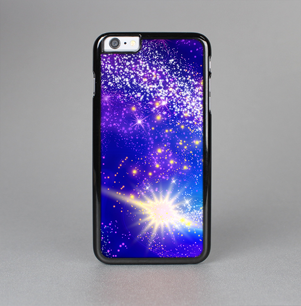 The Glowing Pink & Blue Comet Skin-Sert Case for the Apple iPhone 6 Plus