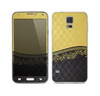 The Gold and Black Luxury Pattern Skin For the Samsung Galaxy S5