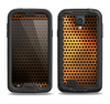 The Golden Metal Mesh Samsung Galaxy S4 LifeProof Nuud Case Skin Set
