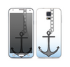 The Gray Chained Anchor Skin For the Samsung Galaxy S5