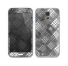 The Grayscale Layer Checkered Pattern Skin For the Samsung Galaxy S5