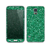 The Green Glitter Print Skin For the Samsung Galaxy S5
