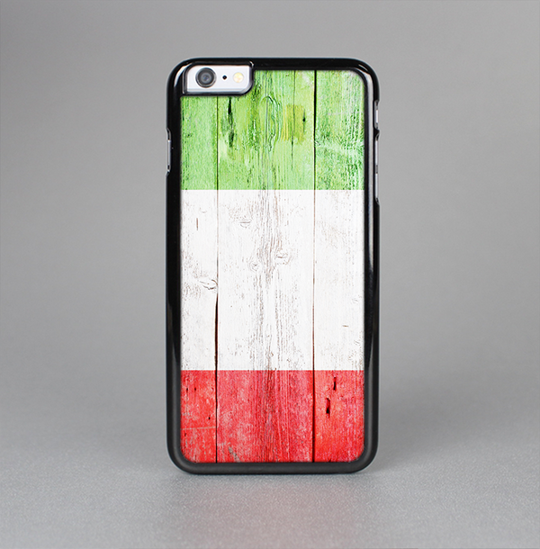 The Green, White and Red Flag Wood Skin-Sert Case for the Apple iPhone 6 Plus