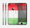 The Green, White and Red Flag Wood Skin for the Apple iPhone 6
