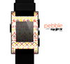 The Hand-Painted Vintage Aztek Pattern Skin for the Pebble SmartWatch