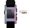 The OverLock Pink to Blue Swirls Skin for the Pebble SmartWatch
