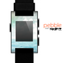 The Paradise Vintage Waves Skin for the Pebble SmartWatch