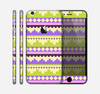 The Purple & Green Tribal Ethic Geometric Pattern Skin for the Apple iPhone 6 Plus