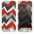 The Red Abstract Zig Zag Skin for the iPhone 3, 4-4s, 5-5s or 5c