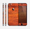 The Red Tinted WoodGrain Skin for the Apple iPhone 6