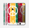 The Red, Yellow & Green Layered Peace Skin for the Apple iPhone 6 Plus