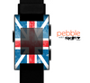 The Scratched Surface London England Flag Skin for the Pebble SmartWatch