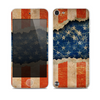 The Scratched Surface Peeled American Flag Skin for the Apple iPod Touch 5G