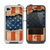 The Scratched Surface Peeled American Flag Skin for the iPhone 4-4s LifeProof Case